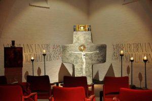Die Anbetungskapelle in der Kriegergedächtniskapelle