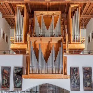 Orgel Sankt Josef