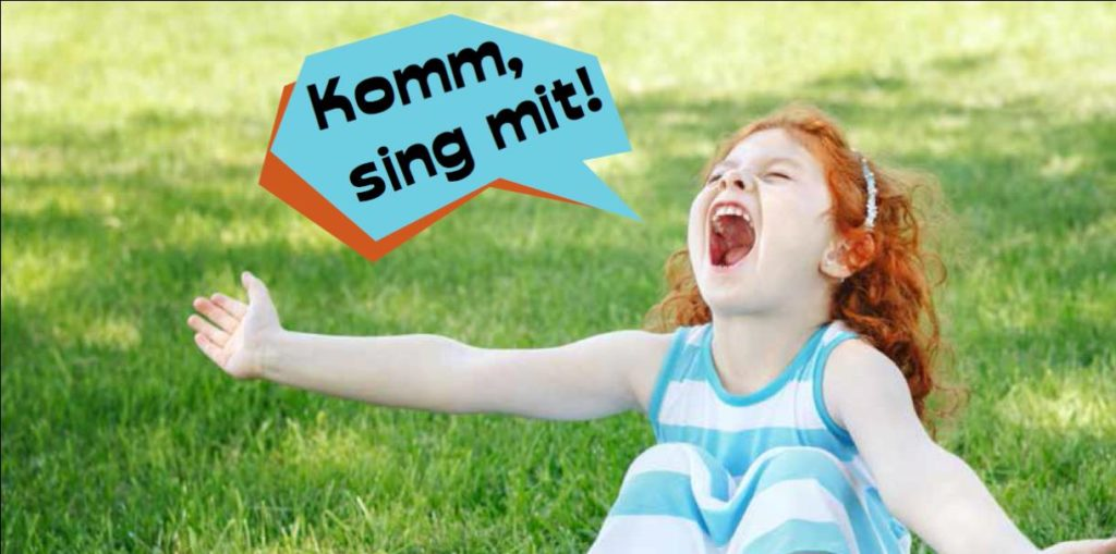 Flyer Kinderchor Vorderseite